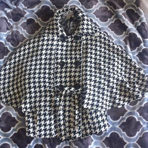 Steve Madden double breasted cape